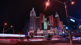New York Casino in Las Vegas Stock Images