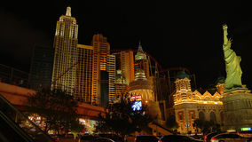 New York Casino in Las Vegas Royalty Free Stock Photos