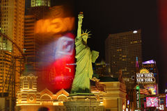 New York Casino in Las Vegas Stock Photos