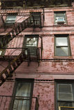 New York - cast-iron facades in SoHo royalty free stock images