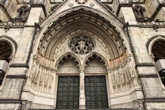 New York cathedral Stock Photography