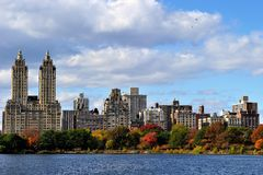 New York from Central Park Stock Photos