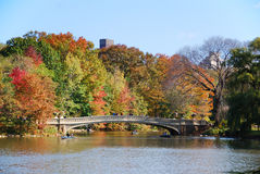 Free New York Central Park Rainbow Bridge Royalty Free Stock Photo - 16839555