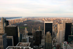 New York Central Park View Stock Photo