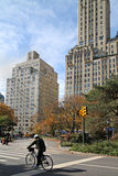 New York, Central Park West Royalty Free Stock Photography