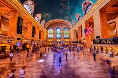 New York centralstation Royaltyfria Bilder