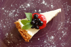 New York cheesecake Stock Images