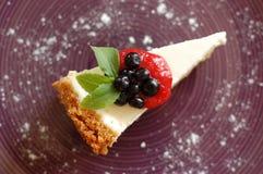 New York cheesecake Stock Images