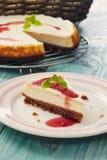 New york cheesecake Royalty Free Stock Photos