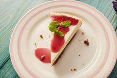 New york cheesecake Royalty Free Stock Photography