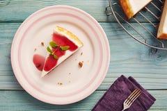 New york cheesecake Stock Image