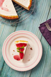 New york cheesecake Royalty Free Stock Images