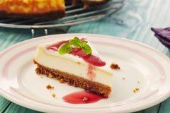 New york cheesecake Stock Photography