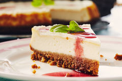 New york cheesecake Stock Photos