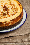 New York cheesecake Stock Photos