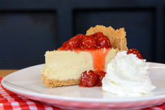 New York cheesecake Royalty Free Stock Photo