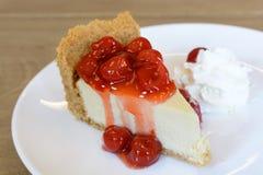 New York cheesecake Royalty Free Stock Image
