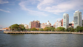 New york chelsea famous view from high line park 4k time lapse stock video