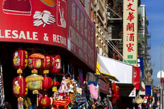 New York Chinatown Photos libres de droits