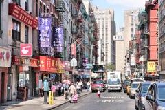New York Chinatown image stock
