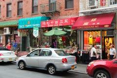 New York Chinatown Stock Image