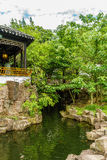 New York Chinese Scholar`s Garden. Staten Island NY Royalty Free Stock Photo