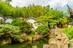 New York Chinese Scholar`s Garden. Staten Island NY Stock Photos