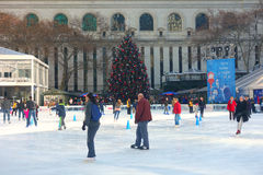 New York at Christmastime Royalty Free Stock Image
