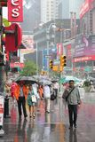New York chuvosa Fotografia de Stock Royalty Free