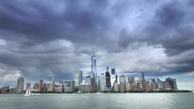 Time Lapse View of Lower Manhattan