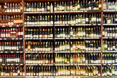 Wine store Royalty Free Stock Image