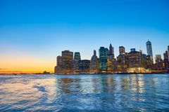 The City of New York Royalty Free Stock Images