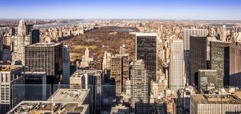 New York CIT in de V.S. Royalty-vrije Stock Foto's