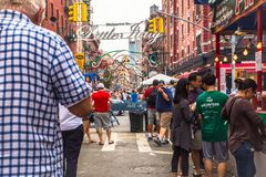 New York Cit Feast of San Gennaro Stock Photo