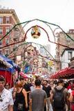 New York Cit Feast of San Gennaro Royalty Free Stock Photo