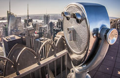 New York cit i USA Arkivfoto