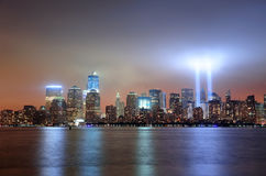 New York City Манхаттан городское Стоковое Фото