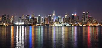 New York City Манхаттан Стоковые Изображения RF