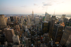 New York City. Skyline from the Rockefeller tower Royalty Free Stock Photo