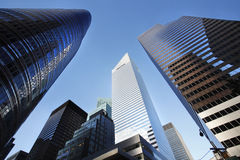 New York City. Buildings, looking up stock photos