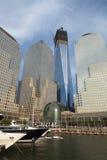 NEW YORK CITY - 17 DE SEPTIEMBRE: World Trade Center Foto de archivo libre de regalías