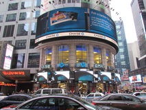 New York City. Is a popular destination for a day or a vacation to shop, have fun and see the hustle and bustle of the city Royalty Free Stock Image