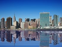 New York City. On a beautiful clear day Royalty Free Stock Images
