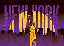 New York City royalty illustrazione gratis