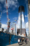 NEW YORK CITY - 3 OCTOBRE : Un World Trade Center Photos libres de droits