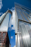 NEW YORK CITY - 3. OKTOBER: Ein World Trade Center Stockbilder