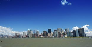 New York City. Wide angle view Stock Photo