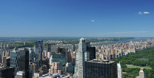 New York City. Panoramic view Royalty Free Stock Photography