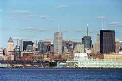 New York City USA. Pier 57 and Chelsea Market area on the Hudsion River side of Manhattan, New York City stock images