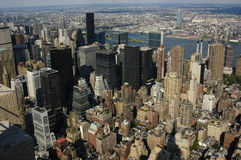New York City. From above Royalty Free Stock Image